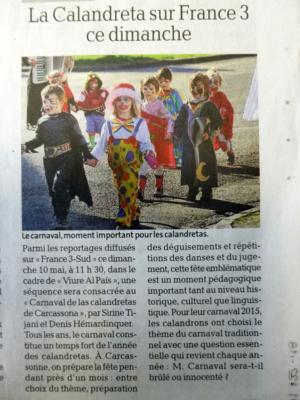 09-05-15-la_calandreta _sur_france3_ce_dimanche-la_depeche_du_midi